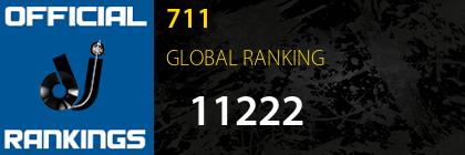 711 GLOBAL RANKING