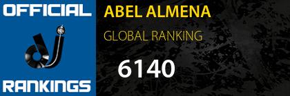 ABEL ALMENA GLOBAL RANKING