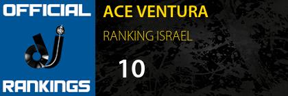 ACE VENTURA RANKING ISRAEL