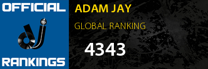 ADAM JAY GLOBAL RANKING