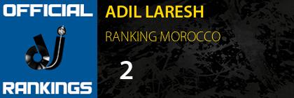 ADIL LARESH RANKING MOROCCO