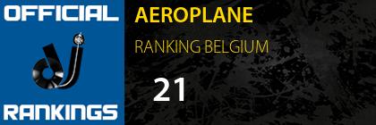 AEROPLANE RANKING BELGIUM