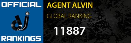 AGENT ALVIN GLOBAL RANKING