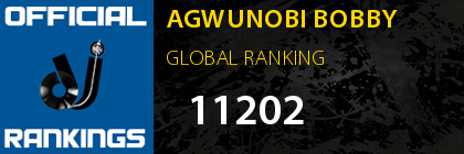 AGWUNOBI BOBBY GLOBAL RANKING