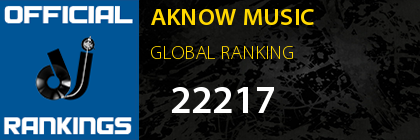 AKNOW MUSIC GLOBAL RANKING