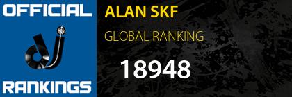 ALAN SKF GLOBAL RANKING