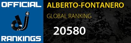 ALBERTO-FONTANERO GLOBAL RANKING