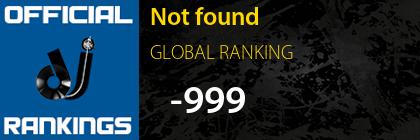 ALEJANDRO MÉNDEZ GLOBAL RANKING