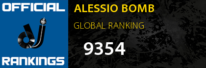 ALESSIO BOMB GLOBAL RANKING