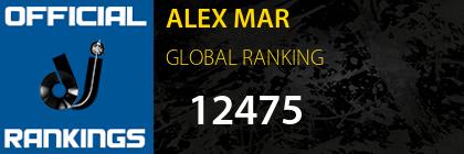 ALEX MAR GLOBAL RANKING