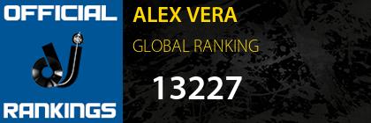 ALEX VERA GLOBAL RANKING