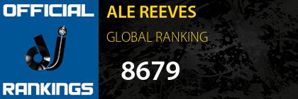 ALE REEVES GLOBAL RANKING