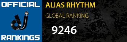ALIAS RHYTHM GLOBAL RANKING