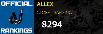 ALLEX GLOBAL RANKING