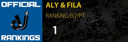 ALY & FILA RANKING EGYPT