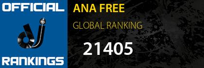 ANA FREE GLOBAL RANKING