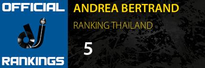 ANDREA BERTRAND RANKING THAILAND