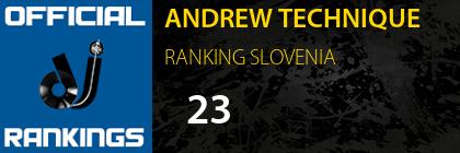ANDREW TECHNIQUE RANKING SLOVENIA