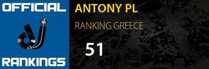 ANTONY PL RANKING GREECE