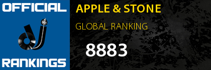 APPLE & STONE GLOBAL RANKING
