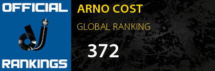 ARNO COST GLOBAL RANKING