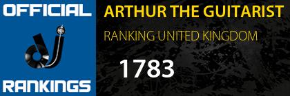 ARTHUR THE GUITARIST RANKING UNITED KINGDOM