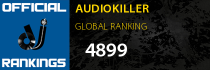 AUDIOKILLER GLOBAL RANKING