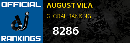 AUGUST VILA GLOBAL RANKING