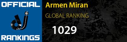 Armen Miran GLOBAL RANKING