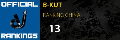 B-KUT RANKING CHINA