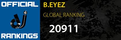 B.EYEZ GLOBAL RANKING