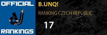 B.UNQ! RANKING CZECH REPUBLIC