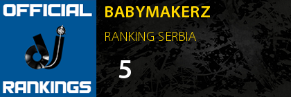 BABYMAKERZ RANKING SERBIA