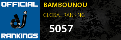 BAMBOUNOU GLOBAL RANKING