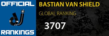 BASTIAN VAN SHIELD GLOBAL RANKING