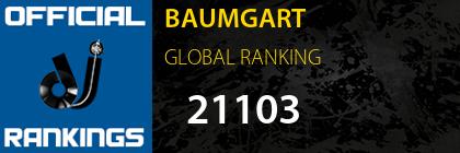 BAUMGART GLOBAL RANKING