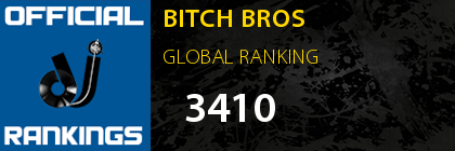 BITCH BROS GLOBAL RANKING