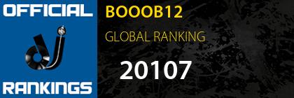 BOOOB12 GLOBAL RANKING