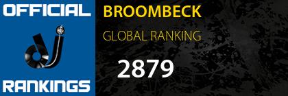 BROOMBECK GLOBAL RANKING