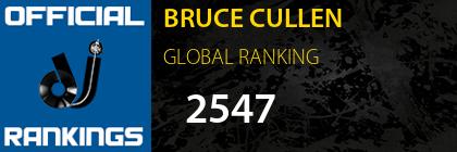BRUCE CULLEN GLOBAL RANKING
