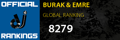 BURAK & EMRE GLOBAL RANKING