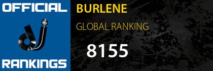 BURLENE GLOBAL RANKING