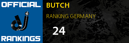 BUTCH RANKING GERMANY