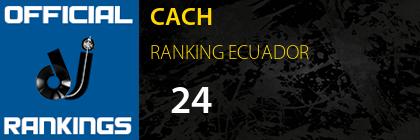 CACH RANKING ECUADOR