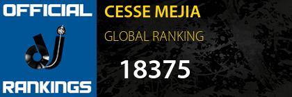 CESSE MEJIA GLOBAL RANKING