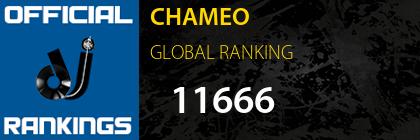 CHAMEO GLOBAL RANKING
