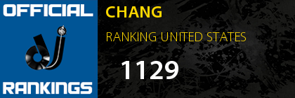 CHANG RANKING UNITED STATES