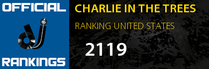 CHARLIE IN THE TREES RANKING UNITED STATES