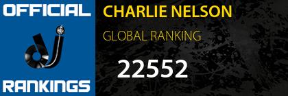 CHARLIE NELSON GLOBAL RANKING
