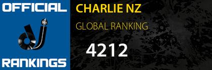 CHARLIE NZ GLOBAL RANKING